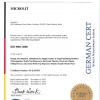 Giấy chứng nhận ISO 9001 Micropipet- Microlit