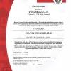 ISO 13485-2012 Vitrex- Đan Mạch