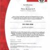 Chứng nhận ISO 9001-2008 Vitrex- Đan Mạch
