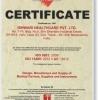 ISO 9001-2008, 13485 Vật tư tiêu hao- ISHWARI- Ấn Độ