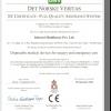 Chứng nhận CE Vật tư tiêu hao- ISHWARI -Ấn Độ
