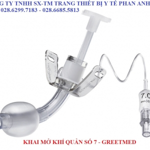 Tracheostomy Tube With Cuffed Size: 7